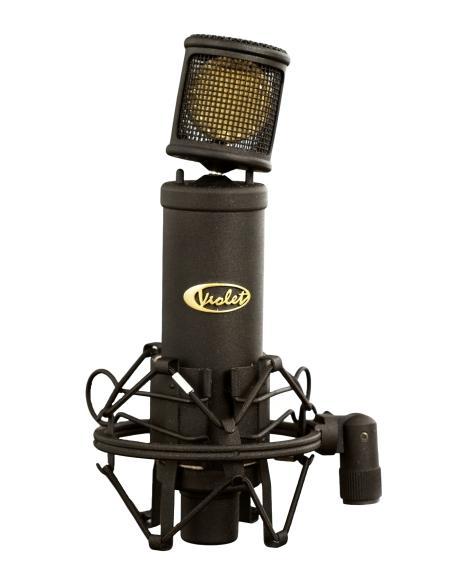 Violet Design Black Finger Cardioid Condenser Microphone