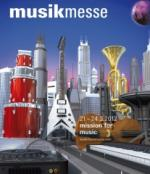 Musik Messe 2012 in Frankfurt at booth D98 in Hall 5.1